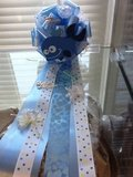 Modern baby shower corsages in Fort Bliss, Texas