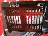 sleigh bed baby crib in Lawton, Oklahoma
