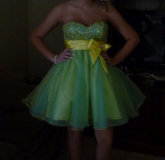 Beautiful Formal / Homecoming / Prom Dress with Matching Earrings in Chicago, Illinois