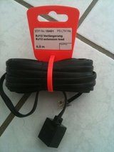 Rj12 Extension cable for telephone 6m in Ramstein, Germany
