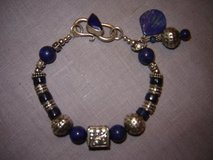 Lapis Lazuli Bracelet with Bali Silver in Alamogordo, New Mexico