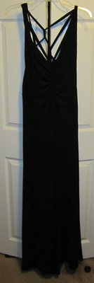 Gorgeous BCBG BLACK DRAPED RUCHED EVENING DRESS in Travis AFB, California