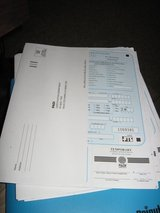PIC Envelopes for PADI Instructors in Fort Lewis, Washington
