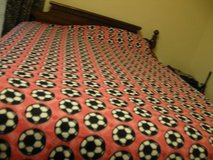 Handmade soccer blanket Have 2. in Fort Bragg, North Carolina